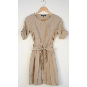 ★Brooks Brothers Pleated Front Shirtdress